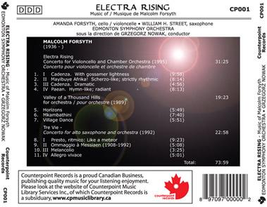Electra Rising TrayCard